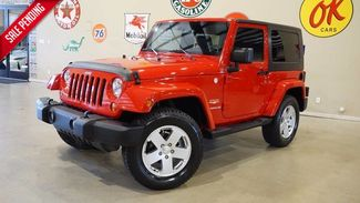 2010 Jeep Wrangler Sahara 4X4 AUTO,HARD TOP,6 DISK CD,CLOTH,45K,WE... in Carrollton TX, 75006