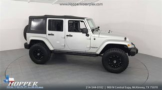 2010 Jeep Wrangler Unlimited Sahara LIFTED W/CUSTOM WHEELS AND TIRES in McKinney Texas, 75070