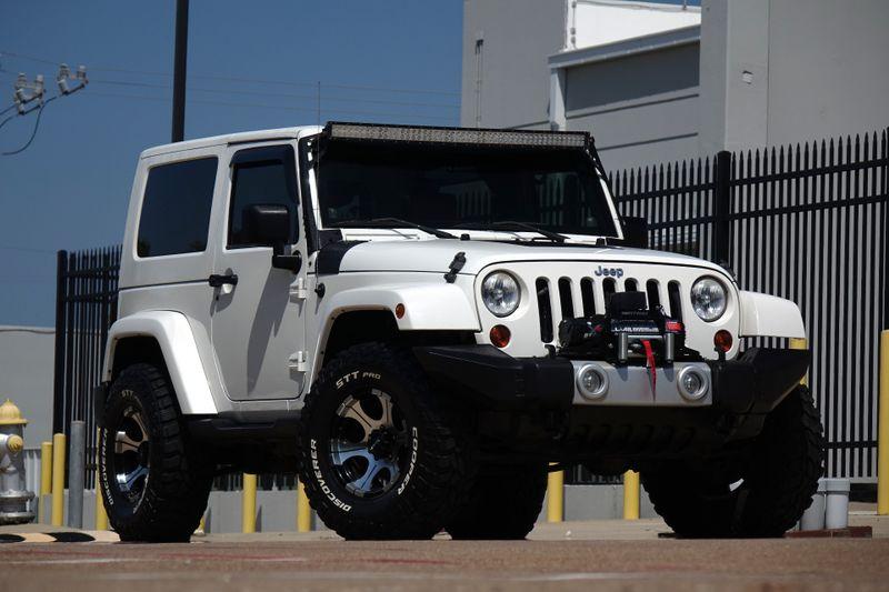 2010 Jeep Wrangler Sahara*Hard Top* Auto* 4x4* Leather* BU Cam* Winch | Plano, TX | Carrick's Autos in Plano TX