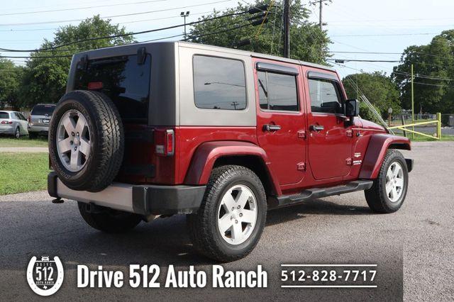 2010 Jeep Wrangler Unlimited Sahara in Austin, TX 78745