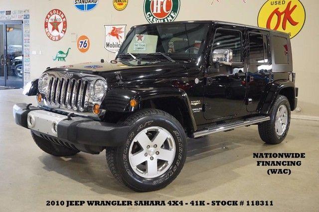 2010 Jeep Wrangler Unlimited Sahara