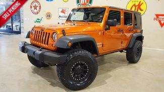 2010 Jeep Wrangler Unlimited Sport 4X4 AUTO,LIFTED,STEREO SYS,BLK WHLS,41K! in Carrollton TX, 75006