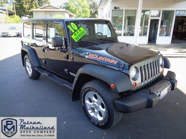 2010 Jeep Wrangler Unlimited Sport in Chico, CA 95928