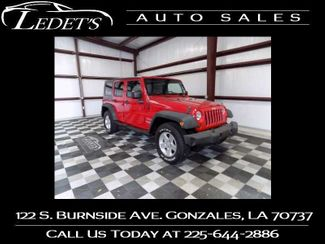 2010 Jeep Wrangler Unlimited Sport - Ledet's Auto Sales Gonzales_state_zip in Gonzales
