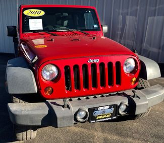 2010 Jeep Wrangler Unlimited Sport 4WD in Harrisonburg, VA 22802