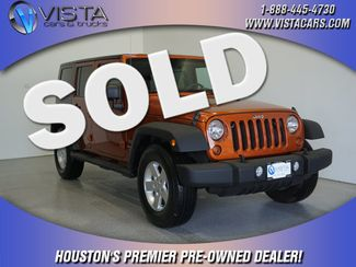 2010 Jeep Wrangler Unlimited Sport  city Texas  Vista Cars and Trucks  in Houston, Texas