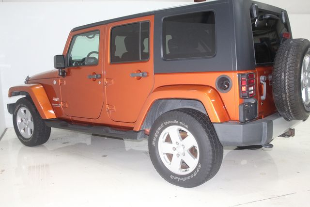 2010 Jeep Wrangler Unlimited Sahara Houston, Texas 11