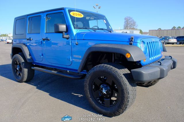 2010 Jeep Wrangler Unlimited Sport in Memphis Tennessee, 38115
