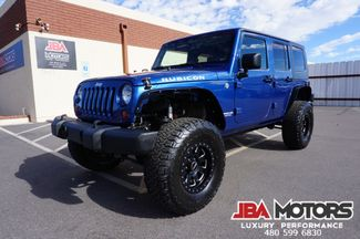 2010 Jeep Wrangler Unlimited Rubicon Hardtop 4 Door 4x4 4WD LIFTED | MESA, AZ | JBA MOTORS in Mesa AZ