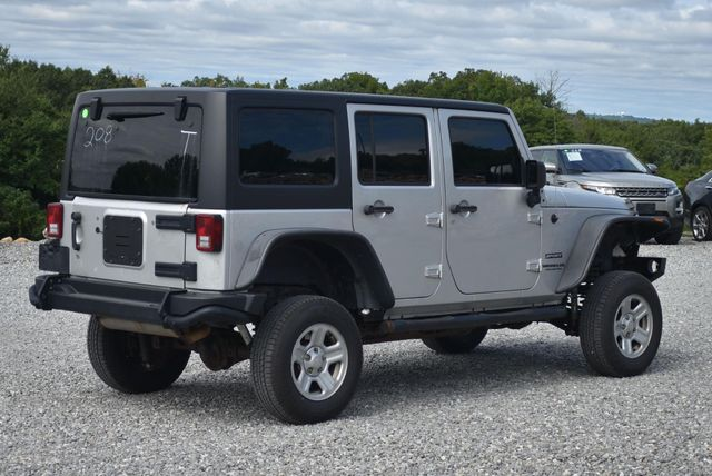 2010 Jeep Wrangler Unlimited Sport Naugatuck, Connecticut 4