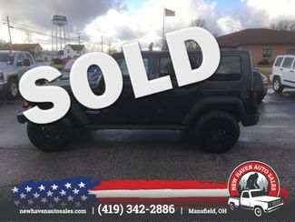 2010 Jeep Wrangler Unlimited Sport in Mansfield, OH 44903