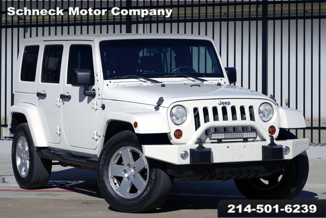 2010 Jeep Wrangler Unlimited Sahara *** REALLY CLEAN FRESH TRADE-IN ****