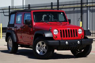 2010 Jeep Wrangler Unlimited Sport* 2WD* Auto* EZ Finance** | Plano, TX | Carrick's Autos in Plano TX
