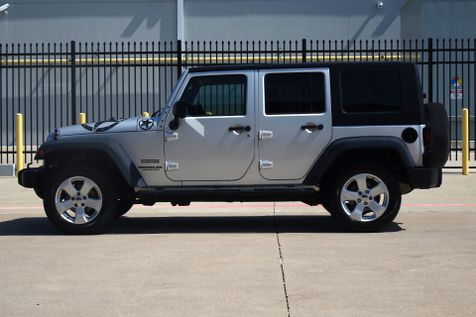 2010 Jeep Wrangler Unlimited Sport* 2 WD* Hard Top* Auto Trans* EZ Financing** | Plano, TX | Carrick's Autos in Plano, TX