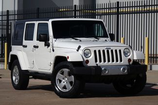 2010 Jeep Wrangler Unlimited Sahara* Auto* Nav* Hard Top* 4x4* EZ Finance** | Plano, TX | Carrick's Autos in Plano TX