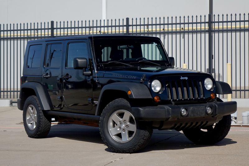 2010 Jeep Wrangler Unlimited Rubicon Rubicon*Auto*Soft Top*Nav**   Plano, TX   Carrick's Autos in Plano TX