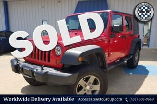 2010 Jeep Wrangler Unlimited Sport in Rowlett