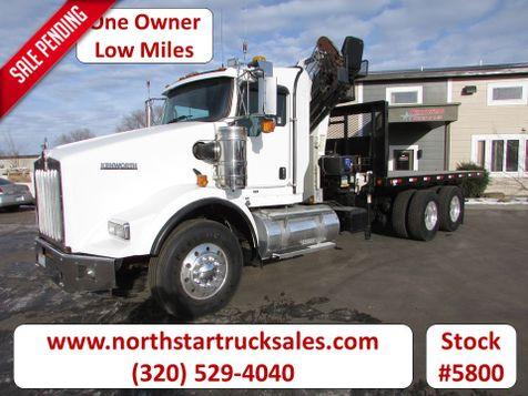 2010 Kenworth T800 Cummins Knuckle Boom Truck  in St Cloud, MN