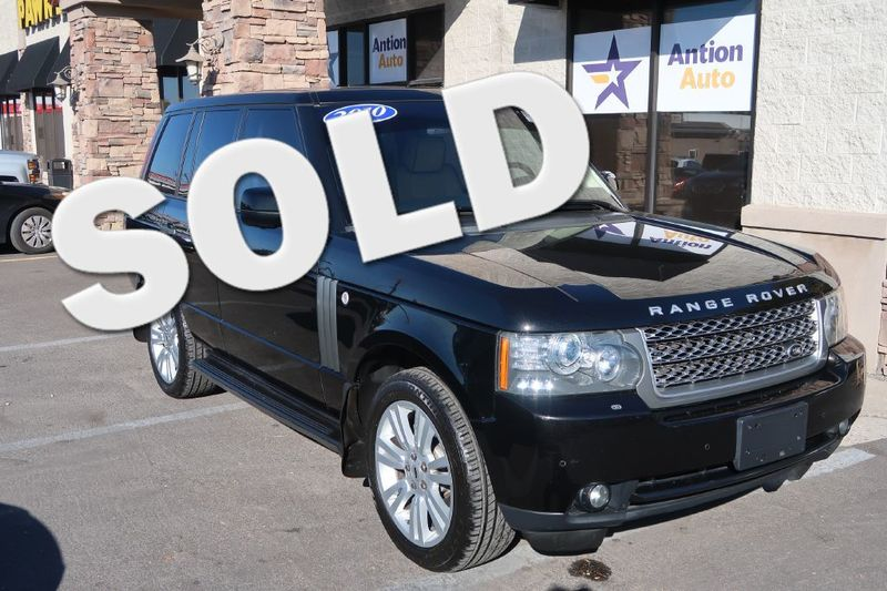 2010 Land Rover Range Rover HSE LUX   Bountiful, UT   Antion Auto in Bountiful UT