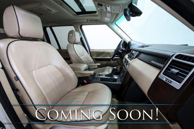 2010 Land Rover Range Rover HSE 4x4 Luxury SUV w/5.0L V8, Nav, Heated Seats, Moonroof & Harman/Kardon Audio in Eau Claire, Wisconsin 54703
