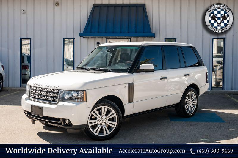 2010 Land Rover Range Rover 5.0L V8 HSE LUX Navigation Htd/Vntltd Seats Nice! in Rowlett Texas