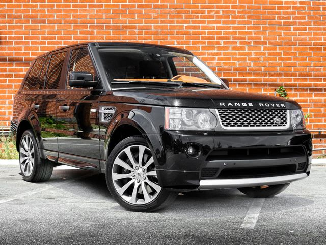 2010 Land Rover Range Rover Sport AUTOBIOGRAPHY SC AUTOBIOGRAPHY LIMITED EDITION Burbank, CA 1