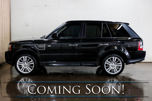 "2010 Land Rover Range Rover Sport HSE 4x4 Luxury SUV w/5.0L V8, 20"" Rims, Nav, Heated Seats and 14-Speaker Audio in Eau Claire, Wisconsin 54703"