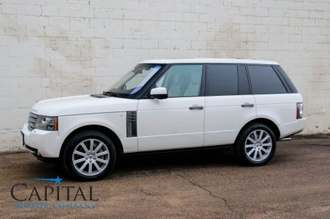2010 Land Rover Range Rover Supercharged 510hp V8 Luxury SUV w/ Navigation Heated/Cooled Seats & DVD Entertainment in Eau Claire