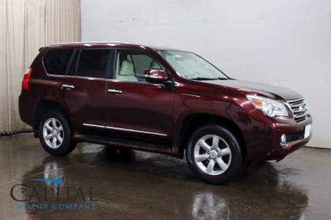2010 Lexus GX460 4x4 SUV w/3rd Row Seats, Navigation, Backup Cam, Heated/Cooled Seats and Remote Start in Eau Claire