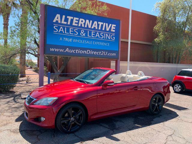 2010 Lexus IS 250 Convertible 3 MONTH/3,000 MILE NATIONAL POWERTRAIN WARRANTY Mesa, Arizona
