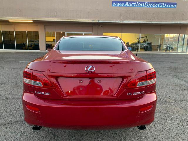 2010 Lexus IS 250 Convertible 3 MONTH/3,000 MILE NATIONAL POWERTRAIN WARRANTY Mesa, Arizona 14