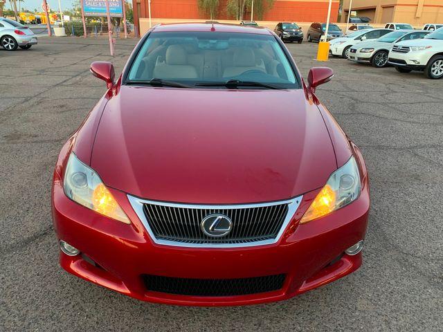 2010 Lexus IS 250 Convertible 3 MONTH/3,000 MILE NATIONAL POWERTRAIN WARRANTY Mesa, Arizona 18