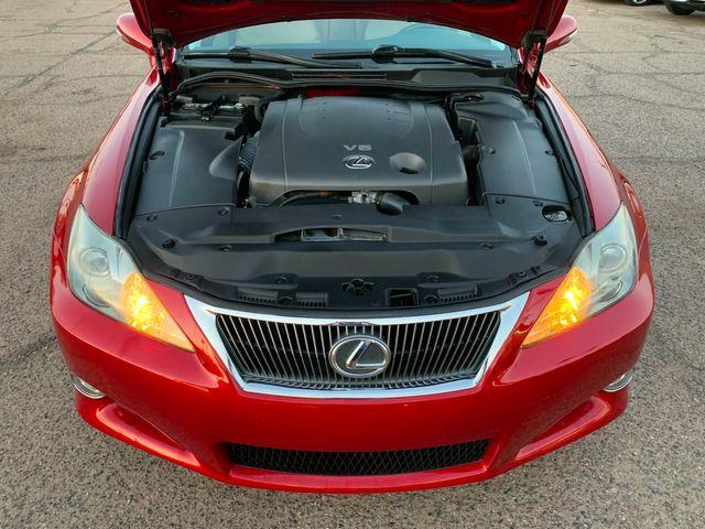 2010 Lexus IS 250 Convertible 3 MONTH/3,000 MILE NATIONAL POWERTRAIN WARRANTY Mesa, Arizona 19