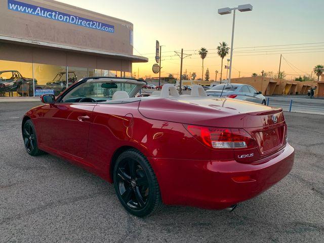 2010 Lexus IS 250 Convertible 3 MONTH/3,000 MILE NATIONAL POWERTRAIN WARRANTY Mesa, Arizona 2
