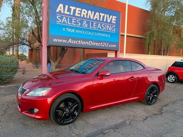 2010 Lexus IS 250 Convertible 3 MONTH/3,000 MILE NATIONAL POWERTRAIN WARRANTY Mesa, Arizona 11