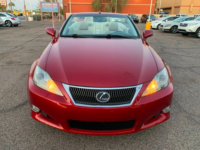 2010 Lexus IS 250 Convertible 3 MONTH/3,000 MILE NATIONAL POWERTRAIN WARRANTY Mesa, Arizona 7