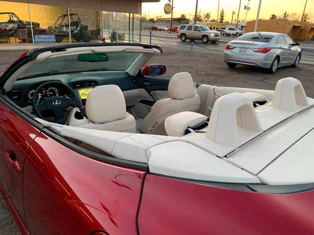 2010 Lexus IS 250 Convertible 3 MONTH/3,000 MILE NATIONAL POWERTRAIN WARRANTY Mesa, Arizona 8