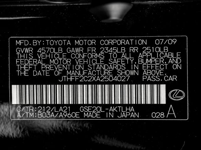 2010 Lexus IS 250C Burbank, CA 25