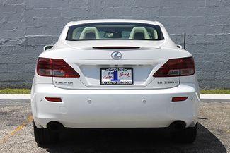 2010 Lexus IS 250C Hollywood, Florida 6