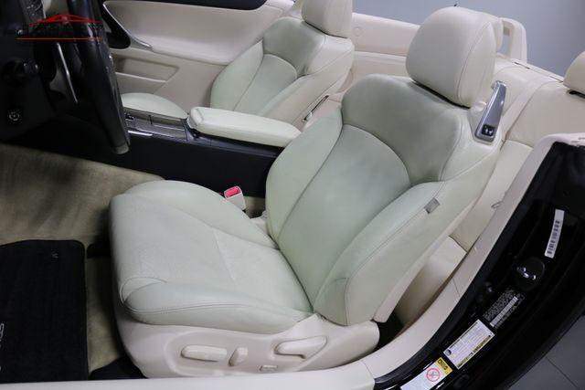 2010 Lexus IS 250C Merrillville, Indiana 11