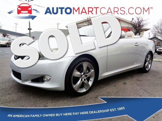 2010 Lexus IS 250C  | Nashville, Tennessee | Auto Mart Used Cars Inc. in Nashville Tennessee