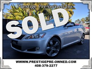 2010 Lexus IS 350C (*NAVIGATION & BACK-UP CAM & HEAT/COOLED SEATS*)  in Campbell CA