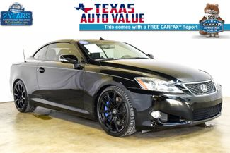 2010 Lexus IS 350C 2DR Conv w/FSport 90 out of 100 made by Lexu in Addison TX, 75001