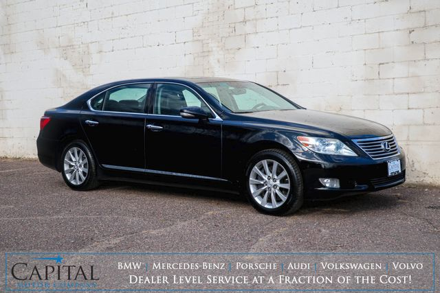 2010 Lexus LS460L AWD Executive Car w/Touchscreen Nav, Backup Cam, Moonroof and Heated/Cooled Seats