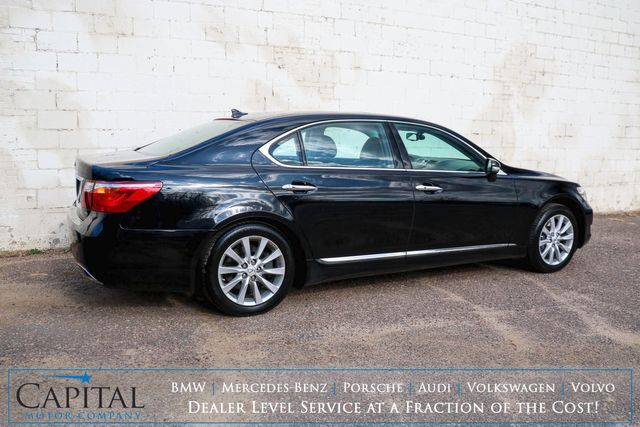 2010 Lexus LS460L AWD Executive Car w/Touchscreen Nav, Backup Cam, Moonroof and Heated/Cooled Seats in Eau Claire, Wisconsin 54703