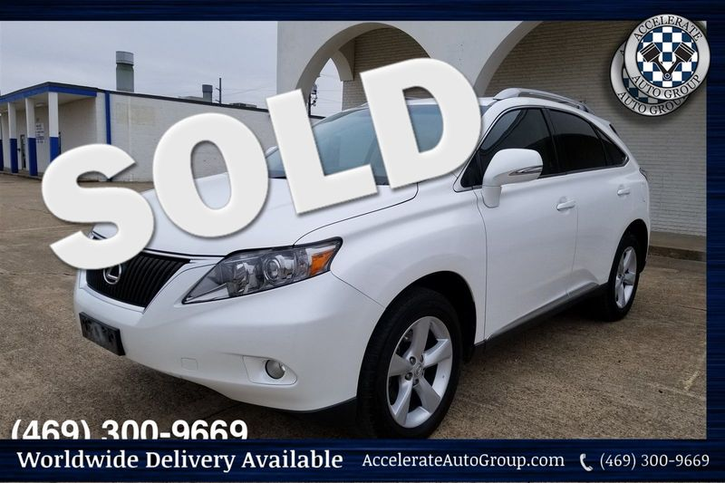 2010 Lexus RX 350 LOW MILES, CLEAN CARFAX, NICE in Rowlett Texas