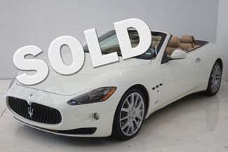 2010 Maserati GranTurismo Convertible Houston, Texas
