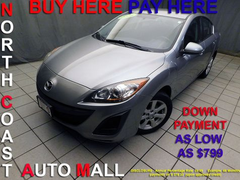 2010 Mazda Mazda3 i Touring As low as $799 DOWN in Cleveland, Ohio