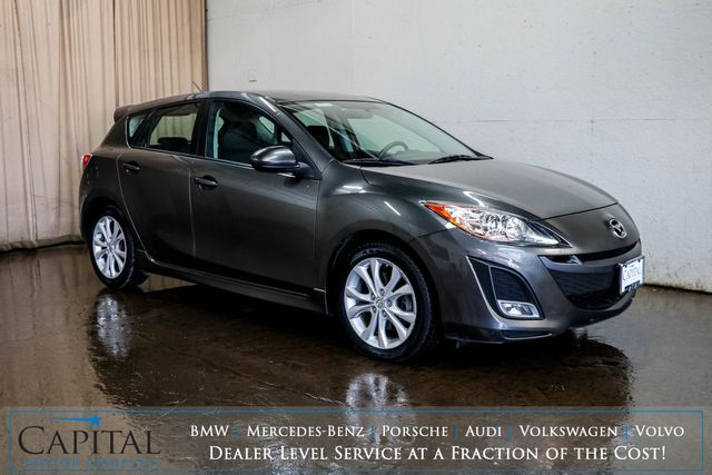 "2010 Mazda Mazda3 S Sport Hatchback w/17"" Wheels, Sport-Style Seats & Bluetooth Audio in Eau Claire, Wisconsin 54703"