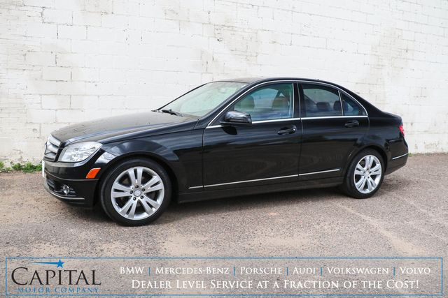 2010 Mercedes-Benz C300 Sport 4MATIC AWD Luxury Car w/Moonroof, Heated Seats, Driver's Memory & Bluetooth